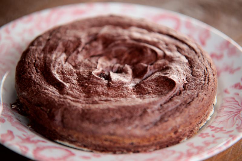Gluten-free brownie cake