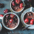 Cherry chocolate ganache espresso pots