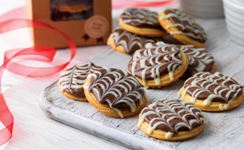 Millionaire's Viennese Biscuits