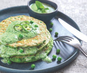 gluten-free savoury pancakes