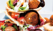 Vegan and gluten-free falafel recipe
