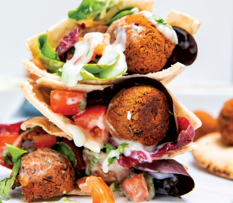 Vegan and gluten-free falafel recipe
