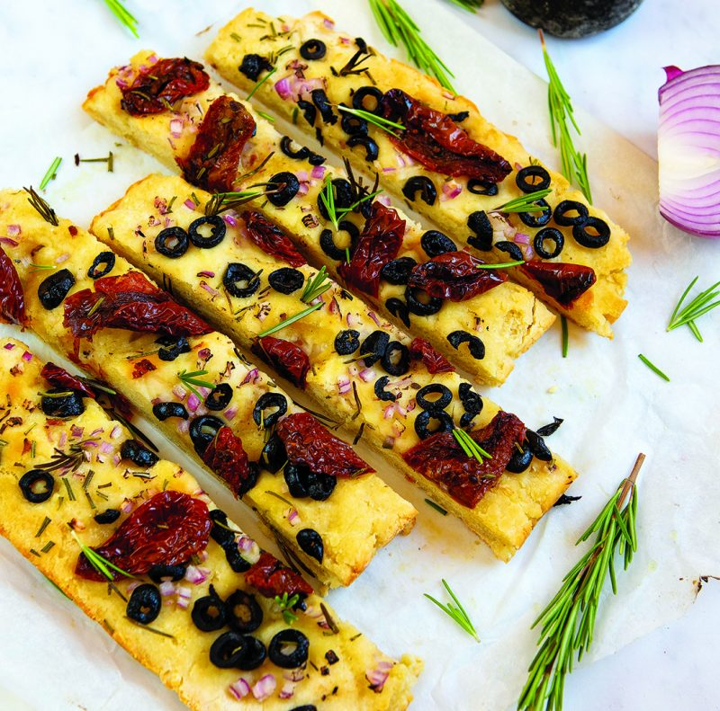 Gluten-free Focaccia