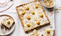 Gluten-free Simnel traybake