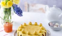 Gluten-free and vegan Easter Simnel cake