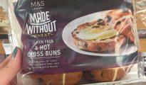 gluten-free hot cross buns