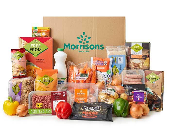 Morrisons gluten-free essentials box
