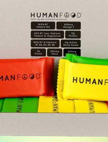 We've teamed up with Human Food to give you the chance to win one of 100 monthly subscription packages filled with their Daily Nutrition Bars!