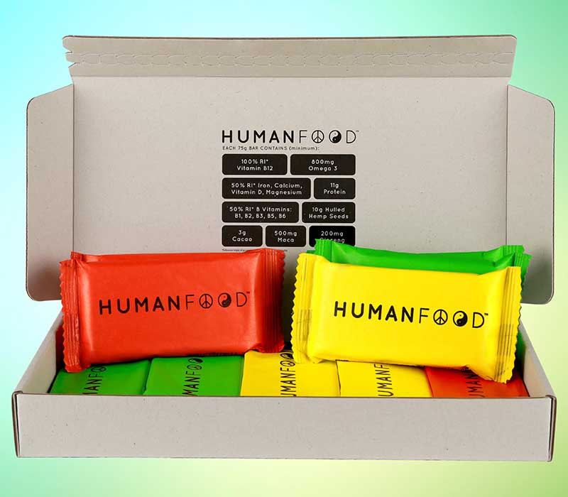 human food nutrition bars