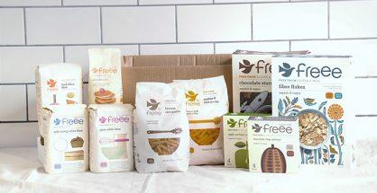 FREEE gluten-free food box