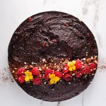 Chocolate, Avocado and Maple Vegan Tart