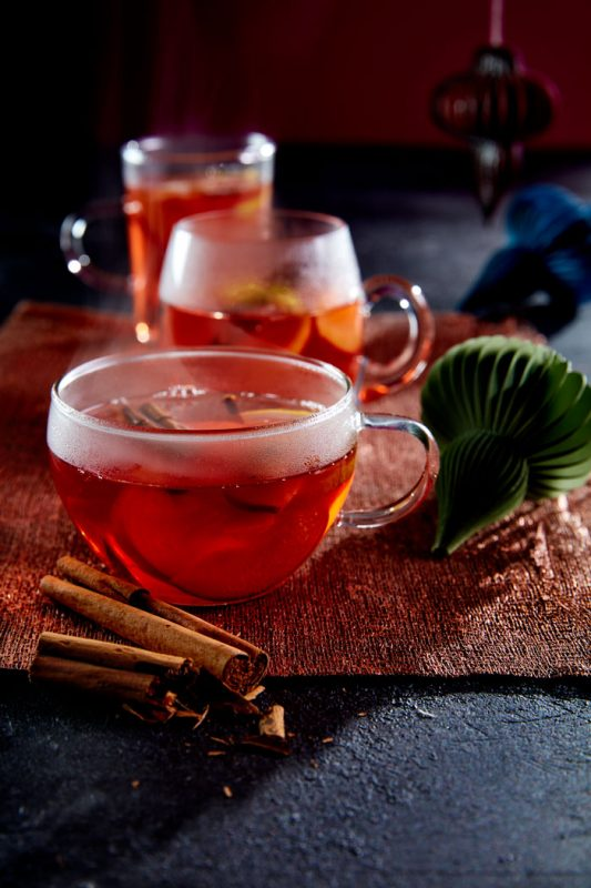 Mulled Plum Punch