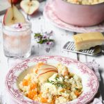 South African Pear, Gorgonzola and Butternut Risotto