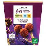 Tesco Free From Triple Choc Truffles