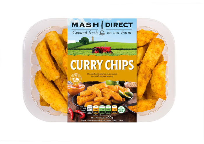 Mash Direct Curry Chips