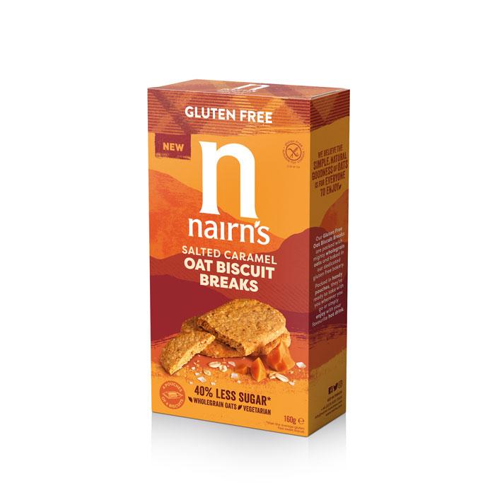 Gluten Free Salted Caramel Oat Biscuit Breaks!