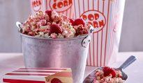 Raspberry and Coconut Popcorn