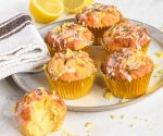 Lamon and poppy Seed Muffins